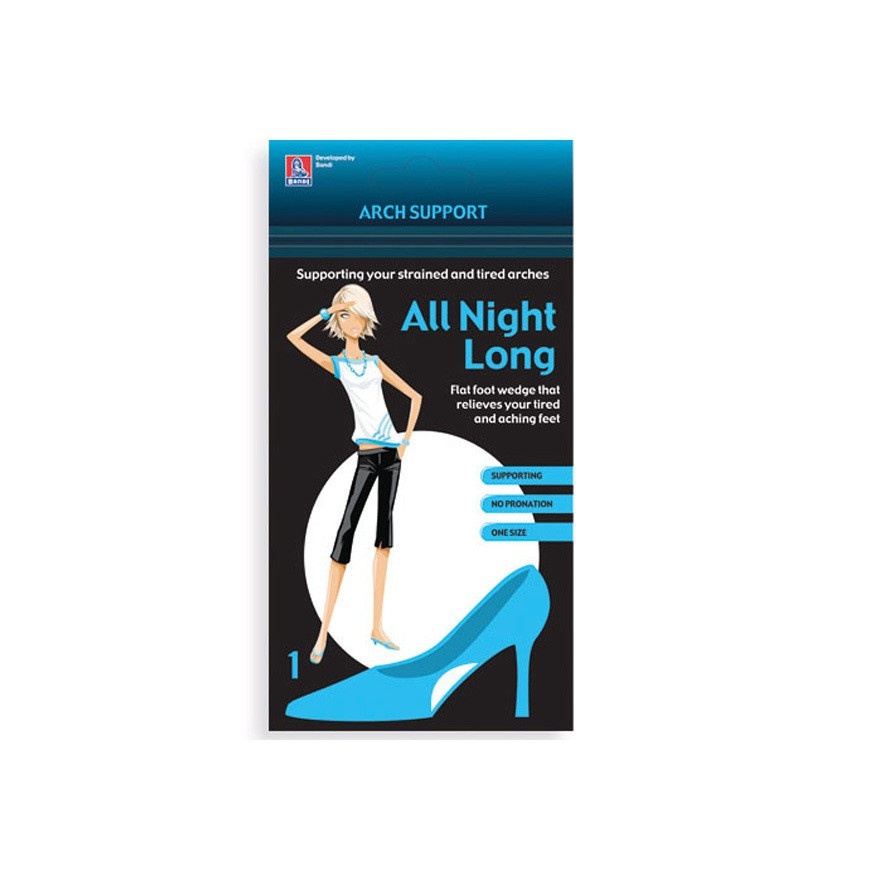 All night long hålfotsstöd gel