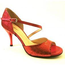 Ada rött glitter