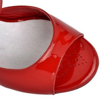 Tangolera A1 röd lack