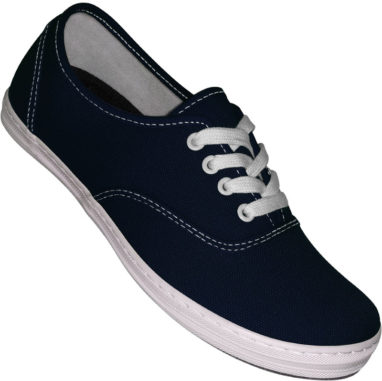 Aris Allen canvas sneaker navy