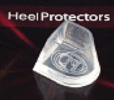 PortDance heel protectors Flare