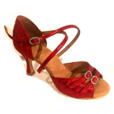 Rummos Diana rödglitter
